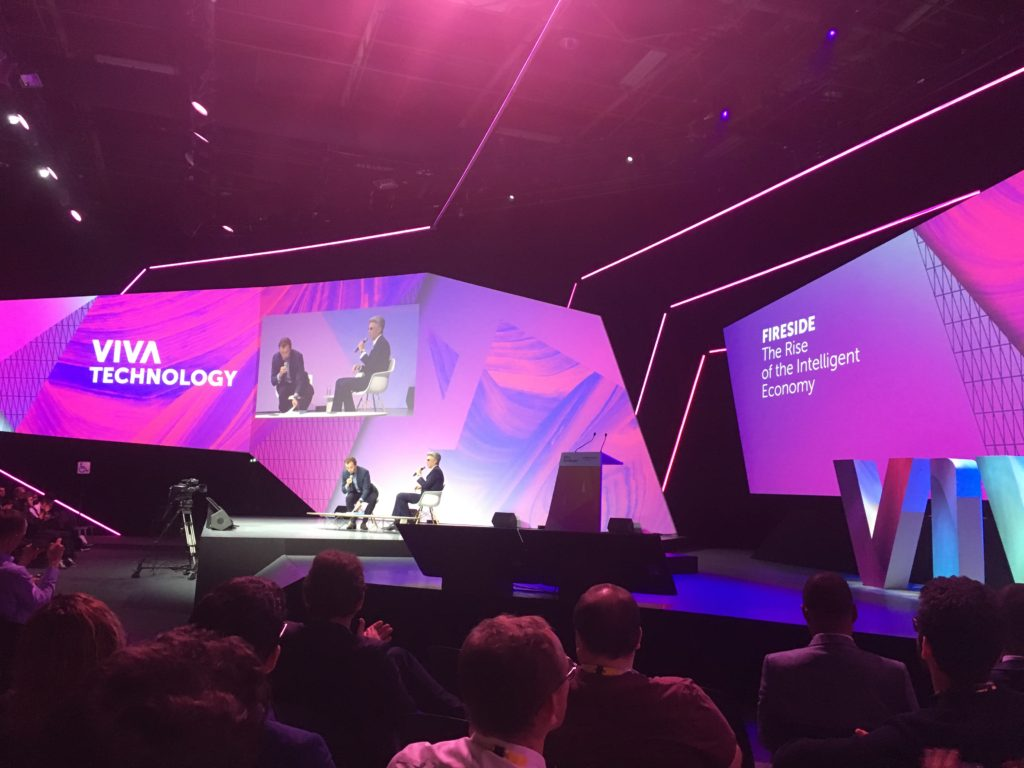VivaTech 2018 - The rise of the intelligent Economy